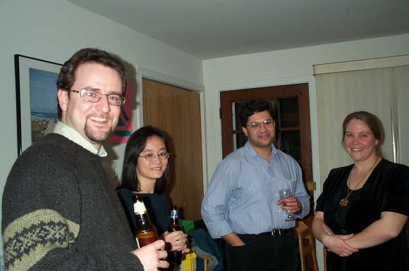 Florian Enescu, Jean Chan, Anurag Singh, and Karen Smith